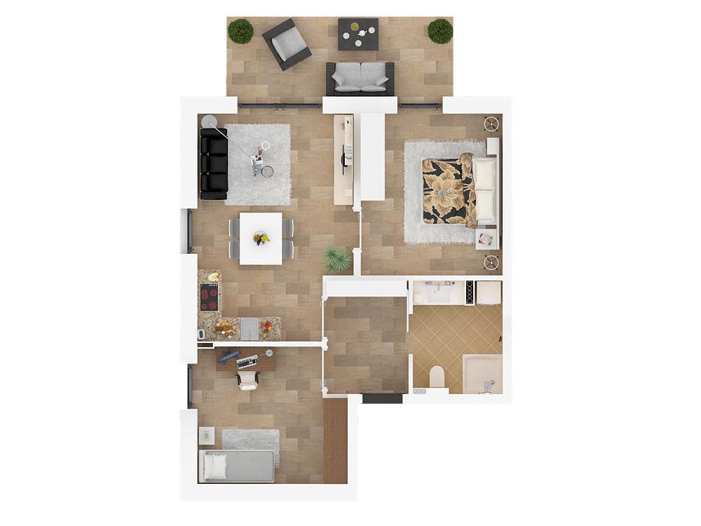 Wohnungstyp Ahorn